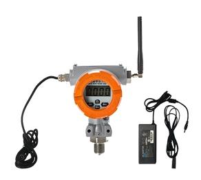 Wireless digital pressure gauge (dual power supply type)