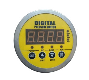HBC-900 Axial Digital Display Pressure Switch (without side)